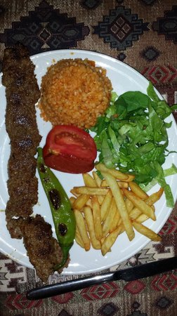 Old House Restaurant: Kebab
