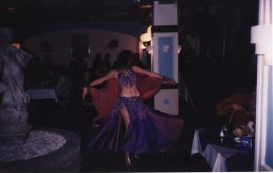 Three Kretans: Bellydancing performance from one of our Island Nights