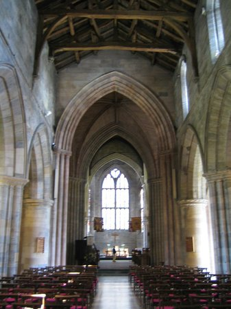 Church of the Holy Rude: Beautiful Arches