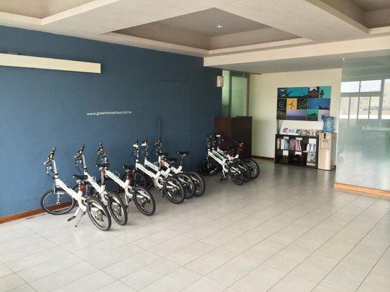 Green Hotel: Bikes