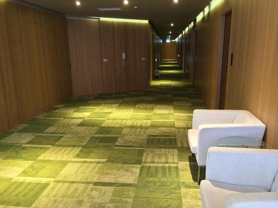Green Hotel: Hallway