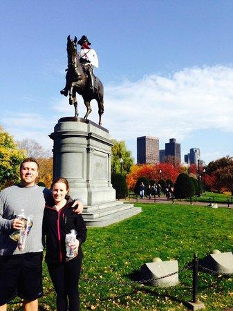 City Running Tours - Boston : Boston North end Running tour
