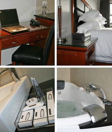 City Corporate Motor Inn: 4 in room shots