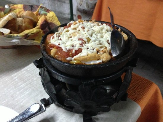 Okumus Mercan Restaurant : Chicken Cheese Casserole.  Yum!