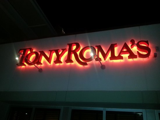 Tony Roma's: cartel