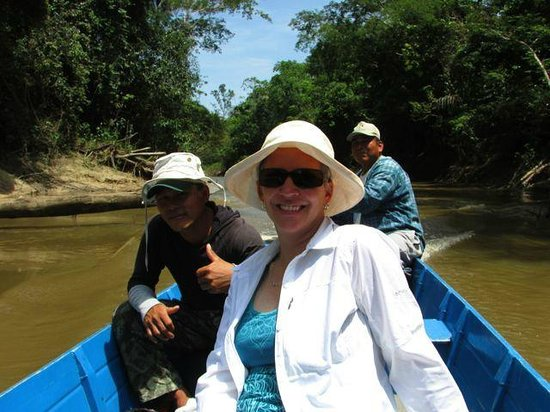 Amazonia Expeditions' Tahuayo Lodge: chilling on the boat