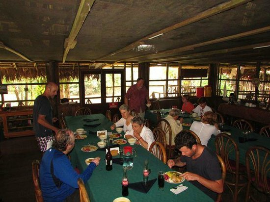 Amazonia Expeditions' Tahuayo Lodge: dining room