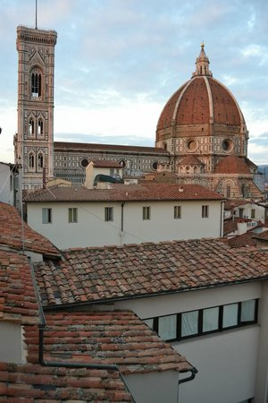 Hotel Brunelleschi: View from our terrace