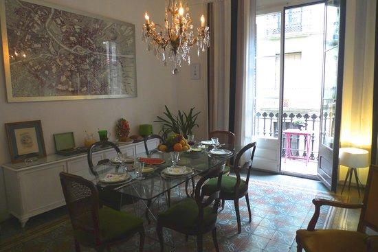 Casa Marcelo Barcelona: Breakfast Area