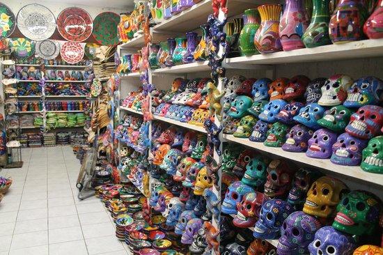El Centro: inside a shop