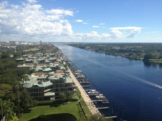Westin Tampa Harbour Island: Room View