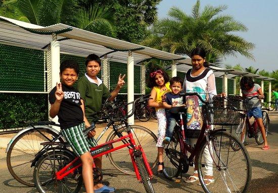Sunray Village Resort: Children went crazy cycling around.