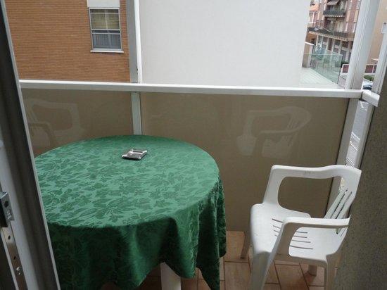 Hotel Parioli: Балкон