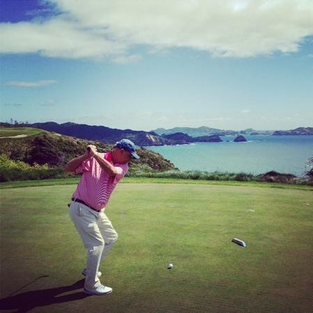 The Lodge at Kauri Cliffs: golfing