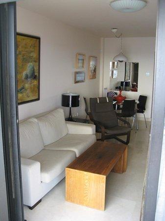 Apartamentos Fuerte Calaceite: lounge room