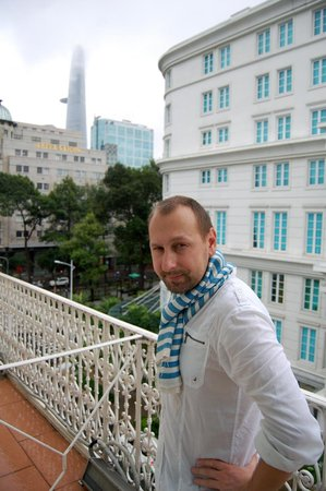 Hotel Continental Saigon: Балкон
