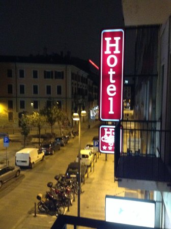 Hotel Ritter : view from our tiny balcony