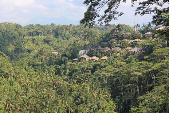 Puri Bunga Resort and Spa: Breakfast view