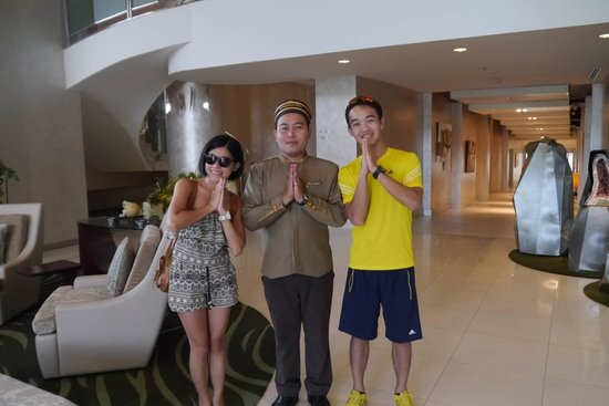 Viva Garden Serviced Residence: with Mr. Patrick
