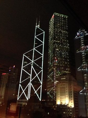 Mandarin Oriental, Hong Kong : view from my window