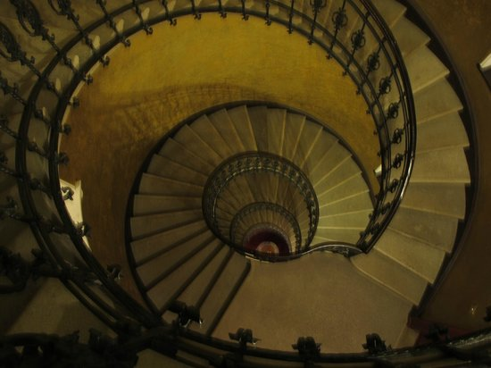 Staircase at Gerloczy Rooms de Lux