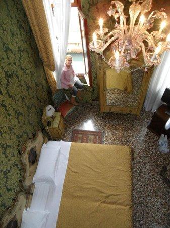 Hotel Palazzo Abadessa: View from Loft