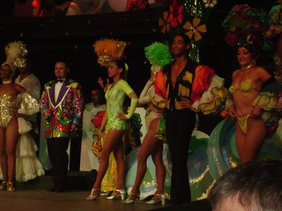 Cabaret Mediterraneo: Cabaret performers.
