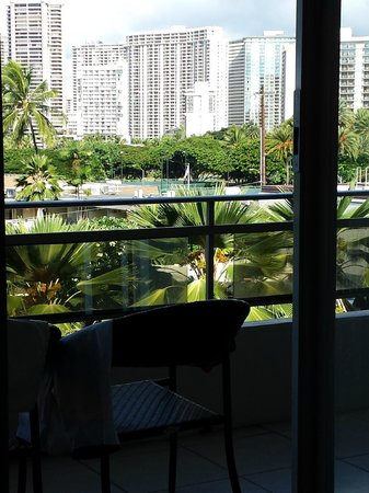 Regency on Beachwalk Waikiki by Outrigger: Our room view