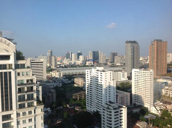Fraser Suites Sukhumvit: View from my verandah