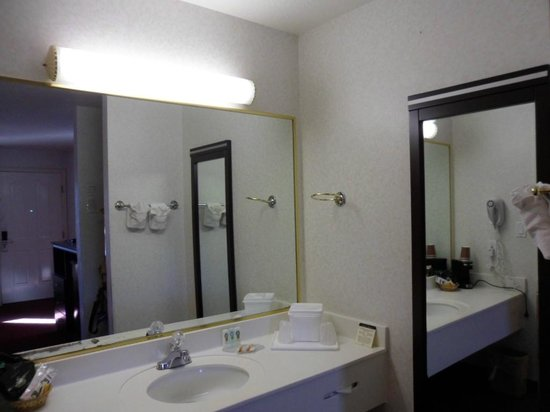 Quality Inn South Bluff : Vanity