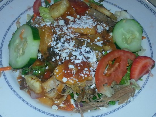 Casa Manana: pork yuca salad