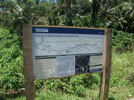 Te Rua Manga (The Needle): Start of the track