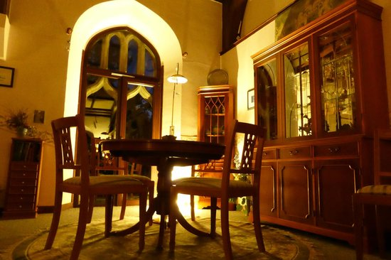 The Old Church of Urquhart: Main dining room