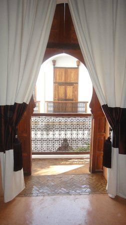 Riad l'Orangeraie: View from inside the Paprika Suite