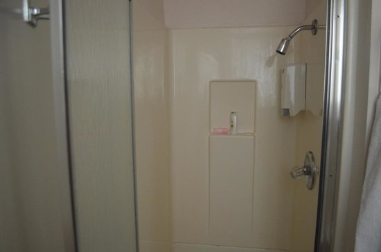 Grant Plaza Hotel: Shower Stall