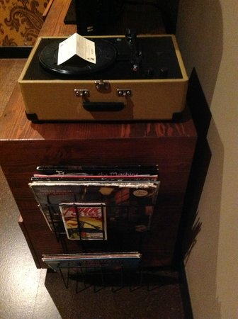 The Redbury Hollywood: Fun selection of records