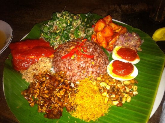 Yellow Flower Cafe: Nasi campur.... Delicious!