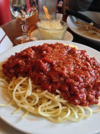 Rivoli Park Tavern : spaghetti bolognese