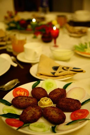 Mulberry Homestay: Exclusive Dining, Cooked according to preference and taste of guests staying with us