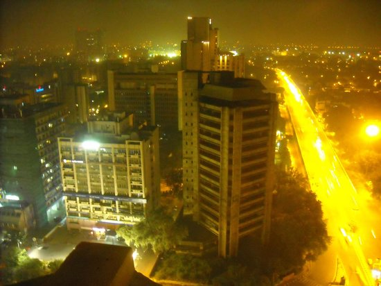 The Hans New Delhi: View from 20th floor