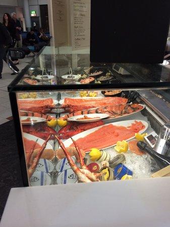 Prunier Seafood & Caviar House : Banco delle proposte