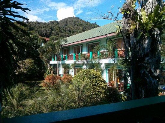 Ao Nang Village Resort: Vue du balcon
