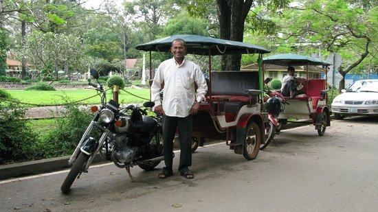 Victoria Angkor Resort & Spa: Reliable Tuk Tuk Driver