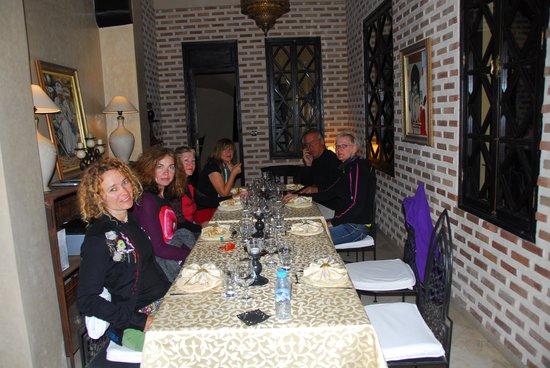 Riad Soleil d'Orient : perfect diner