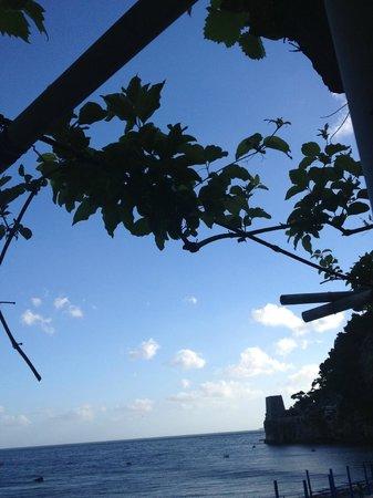 Hotel Pupetto: над балконом