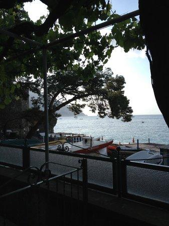 Hotel Pupetto: вид с балкона