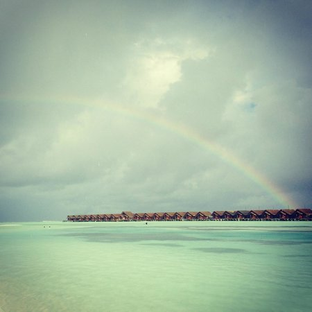 LUX* South Ari Atoll: We were somewhere over the rainbow