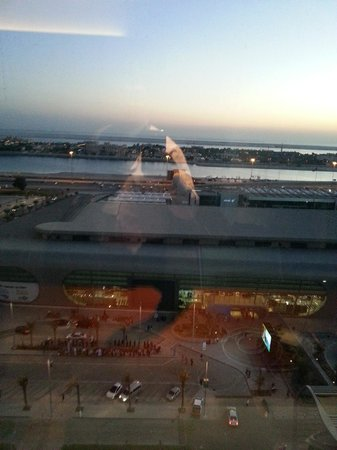 Aloft Abu Dhabi: view from the room