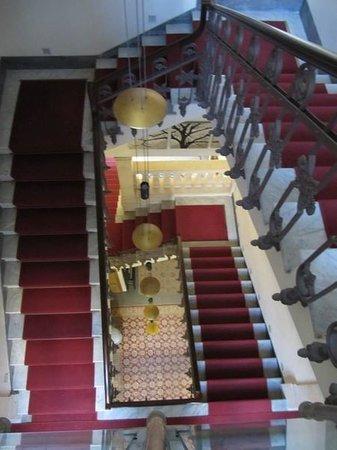 Grande  Albergo Alfeo : Le scale