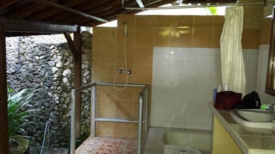 Kuta Puri Bungalows : Shower